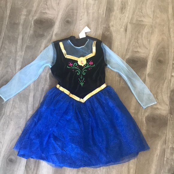 frozen anna halloween costume dress